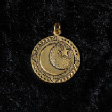 Celtic Birth Charms: 16 - Heulsaf Y Gaeaf (In Gold) - www.avalonstreasury.com