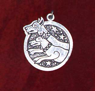 AvalonsTreasury.com: Celtic Birth Charms: 03 - Cwn Annwn (Page: Celtic Birth Charms: 03 - Cwn Annwn) [313 x 299 px]