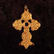 Queen Guinevere's Cross (In Gold) - www.avalonstreasury.com