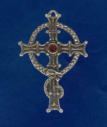AvalonsTreasury.com: Cross of Saint Columbanus (Page: Cross of Saint Columbanus) [357 x 425 px]