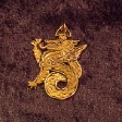 Celtic Dragon (In Gold) - www.avalonstreasury.com