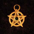 Pentagram of Jewels (In Gold) - www.avalonstreasury.com