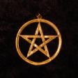 Closed Pentagram (In Gold) - www.avalonstreasury.com