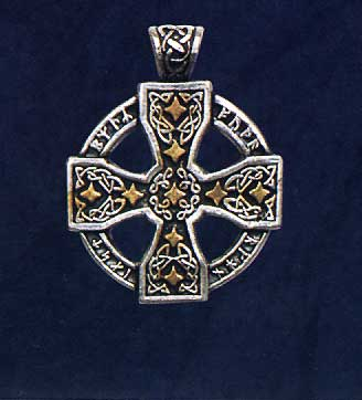 AvalonsTreasury.com: Celtic Cross with Runes (Page: Celtic Cross with Runes) [328 x 362 px]